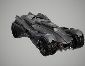 Batmobile 3D asset