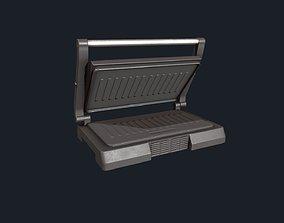 3D model Sandwich Press - Panini Press