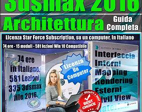 Corso 3ds max 2016 Architettura Guida Completa
