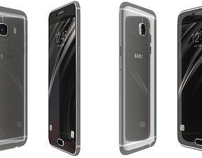 3D model Samsung Galaxy C5 Gray