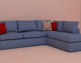 sofa l shape 3D printable model