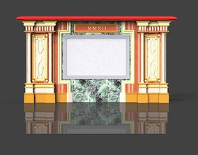 Fireplace portal 3D