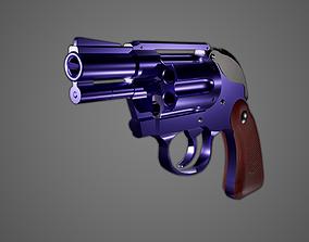 Guido Mista revolver Sex Pistols stand 3D model