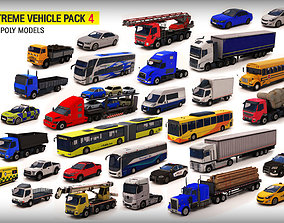 Extreme Vehicle Pack 3D asset game-ready