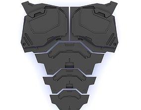 3D printable model Cosplay Cuirass