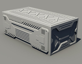 container Sci-fi asset - Container 3D