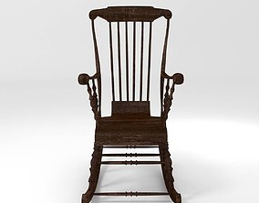 Classic Rocking Chair 3D