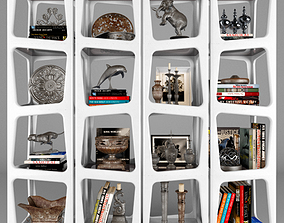 3D Shelf with decorative set