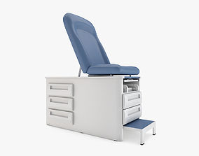 3D model Medical - Exam Table