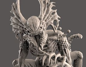 3D print model The Hunter - Alien Creature