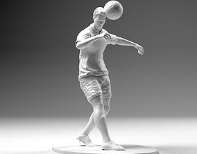 Footballer 02 Headstrike 02 Stl 3D printable model