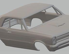 Pontiac GTO 1965 Printable Body Car