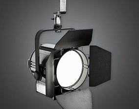 Stage Lights HLW - PBR Game Ready 3D model