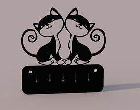 Coak Hook Cats 3D printable model
