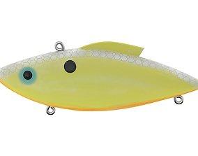 Rat-L-Trap Lure 3D model