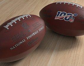 NFL football The Duke 100 3D model