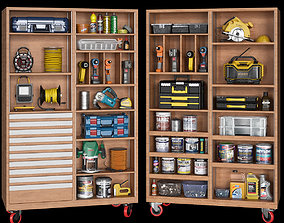 3D model garage tools set 8