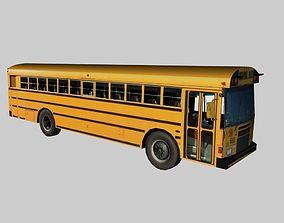 3D model realtime School Bus