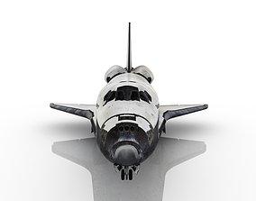 cosmonaut 3D Space Shuttle