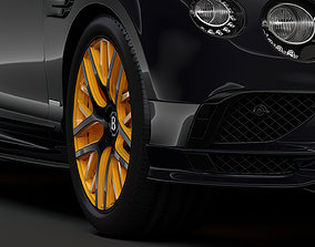 Bentley Continental GT Continental 24 2018 wheel 3D model