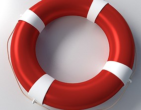3D model Safety Ring Float