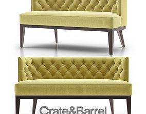 3D Grayson Tufted Settee