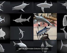 Sea Life 3D Printable Collection