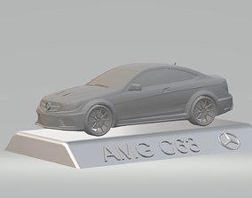 MERCEDES BENZ AMG C63 CAR 3D PRINTING STL FILE