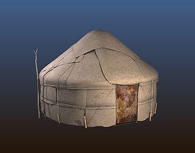 Yurt House 3D model