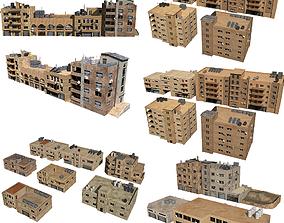 3D model 24 arabian middle east buildings