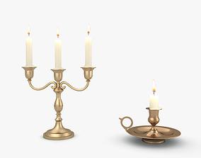 candelabrums 3D Candlestick