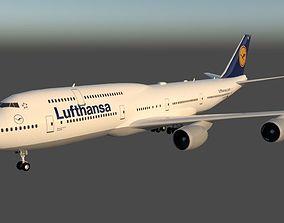 Lufthansa Boeing 747-830 3D