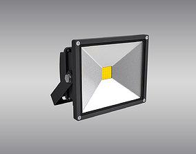 LED Floodlight 3D asset