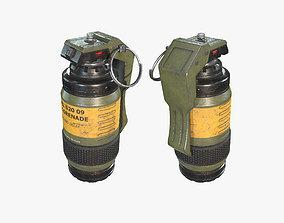 Sci Fi Grenade 02 3D model
