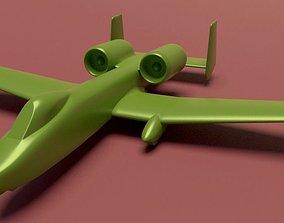 3D print model Fairchild A-10 Thunderbolt II printable