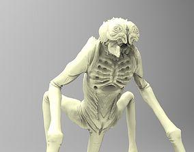 Alien creature 3D print model