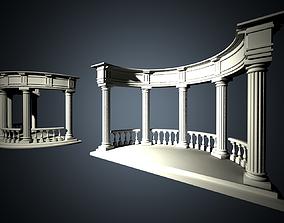 3D model Colonnade