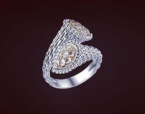 Ring 52 3D print model brand