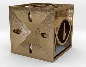 3D print model gadgetchallenge Dice