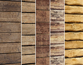 Wooden Plank Collection 2 3D model