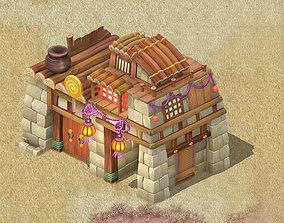 3D model Cartoon version - House 0303