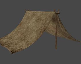 3D Rustic Tent