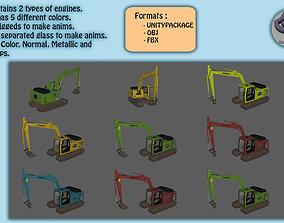 3D model Diggers