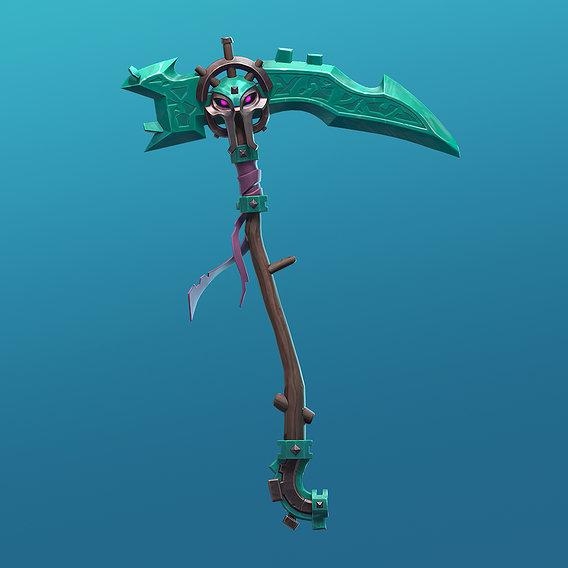 Dwarf Reaper Scythe