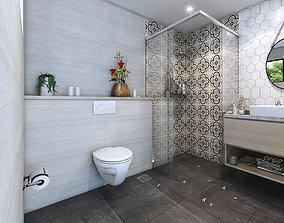 lavatory Bathroom interior 3D