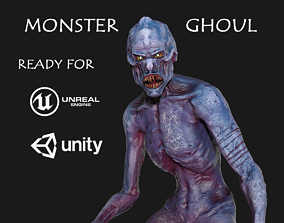 Monster Ghoul 3D model