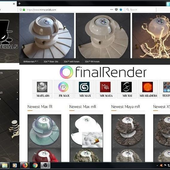 MrMaterials.com - Free Community Materials/Texture /  Repository & Matlab upgraded with finalRender  materials