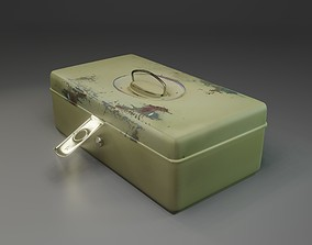 3D model Metal Box - Canister