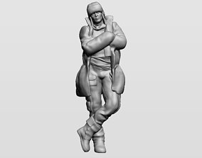 3D printable model Man in winter clothes