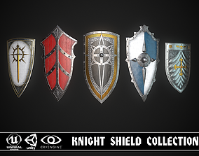 Knight Shield Collection 2 3D model